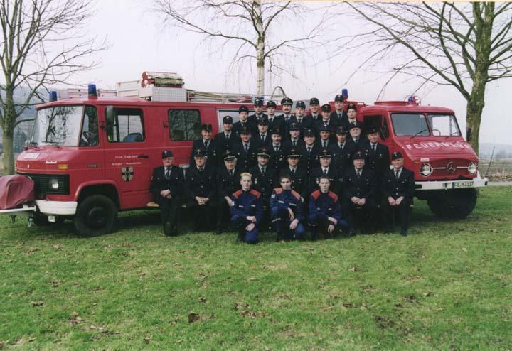 Mannschaft Wasenweiler 2002