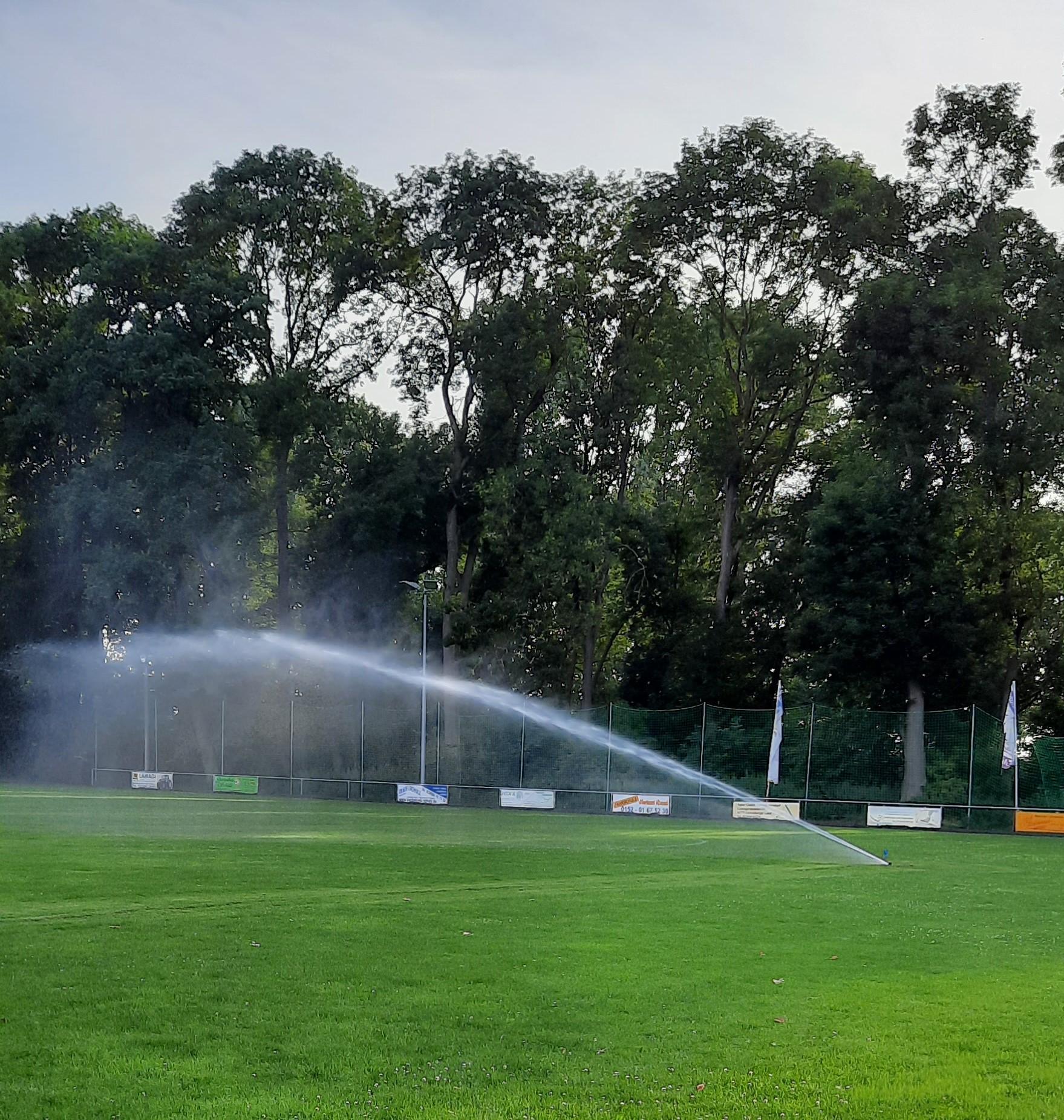 Beregnungsanlage Sportplatz