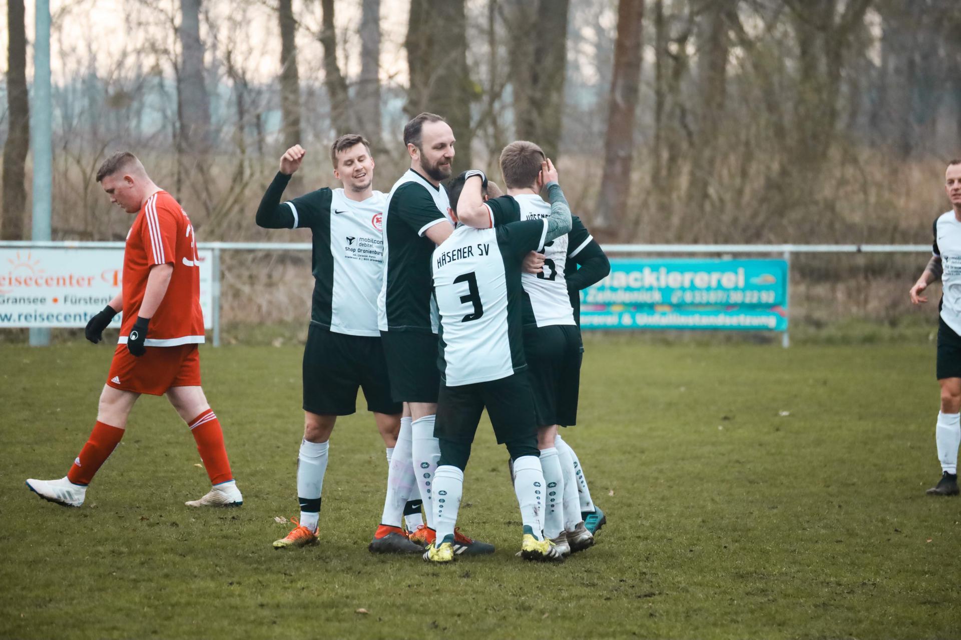 HSV Sieg gegen Eintracht Bötzow II