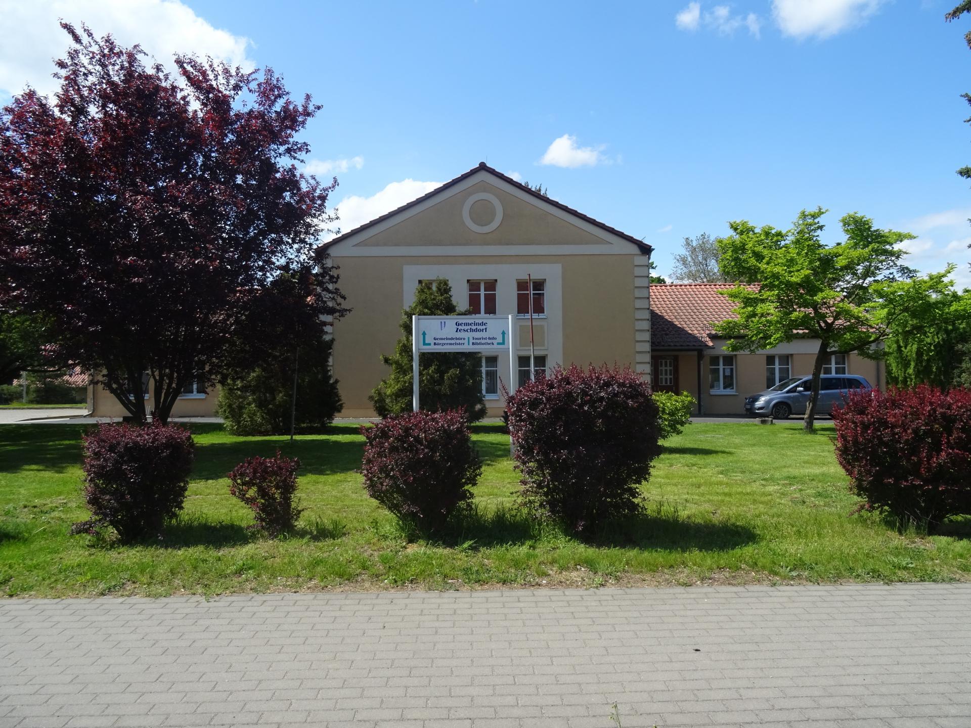 Kulturhaus Alt Zeschdorf  Foto: Info Punkt Lebus