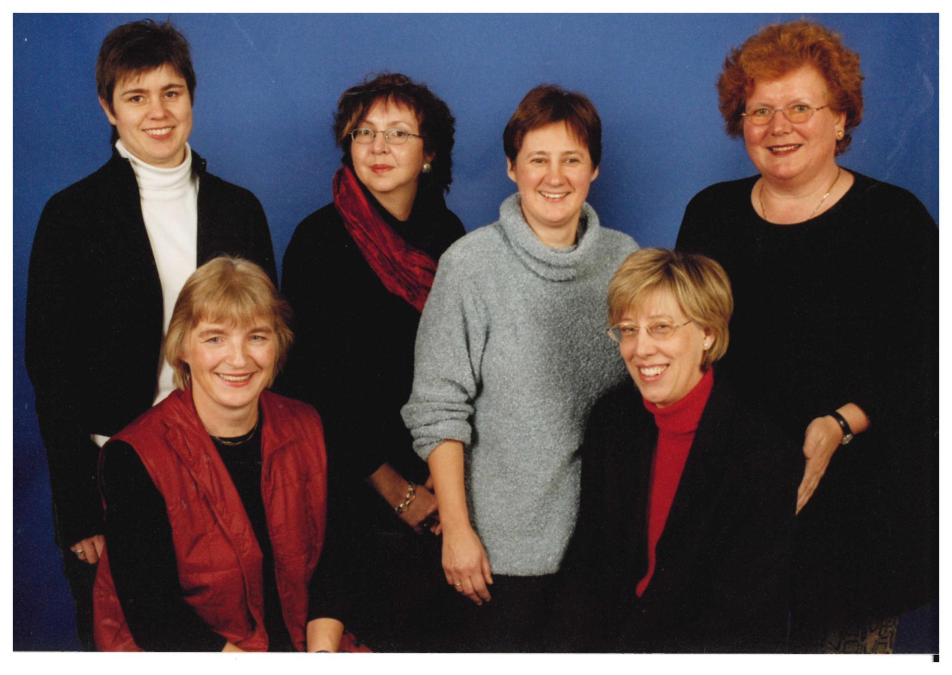 Vorstand Bibliotheksverein 06.11.2002