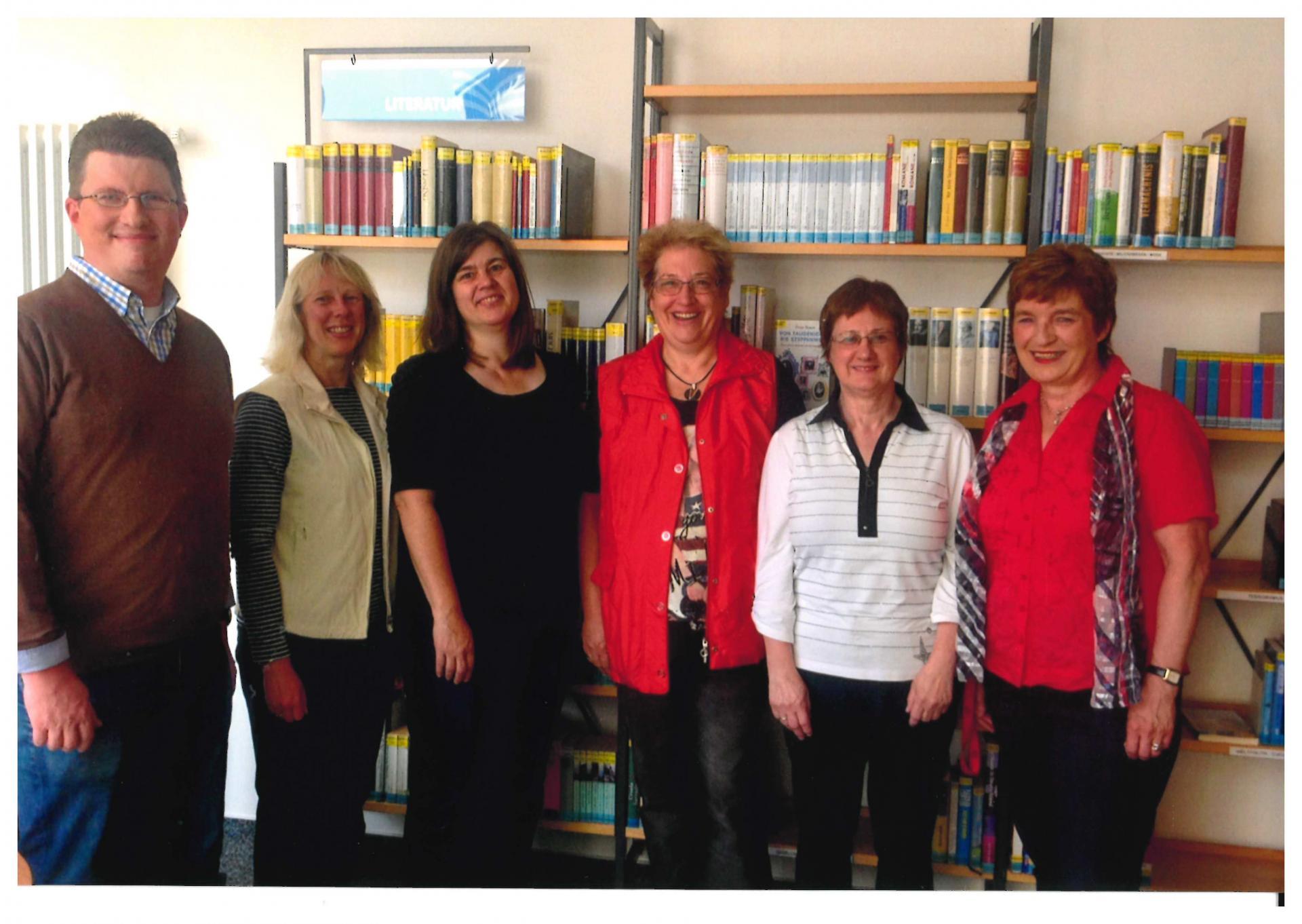 Vorstand Bibliotheksverein 23.05.2016