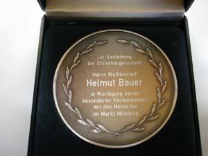 Ehrenmedaille Bauer