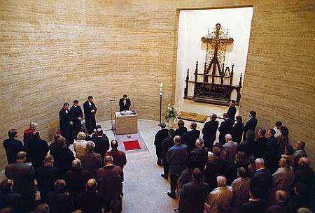Einweihung der Kapelle der Versöhnung