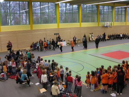 Sporthalle Fredersdorf Nord, Sebastian-Bach-Straße