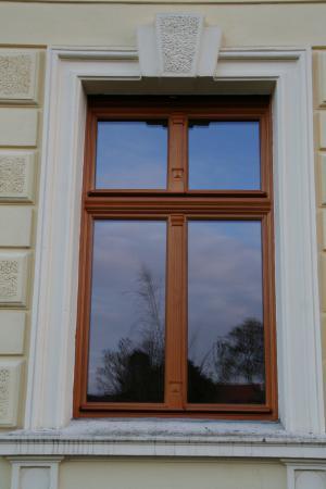 historisches Holzfenster