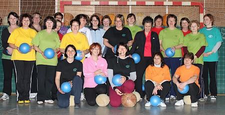 Unsere Gymnastikgruppe - Frauenpower pur