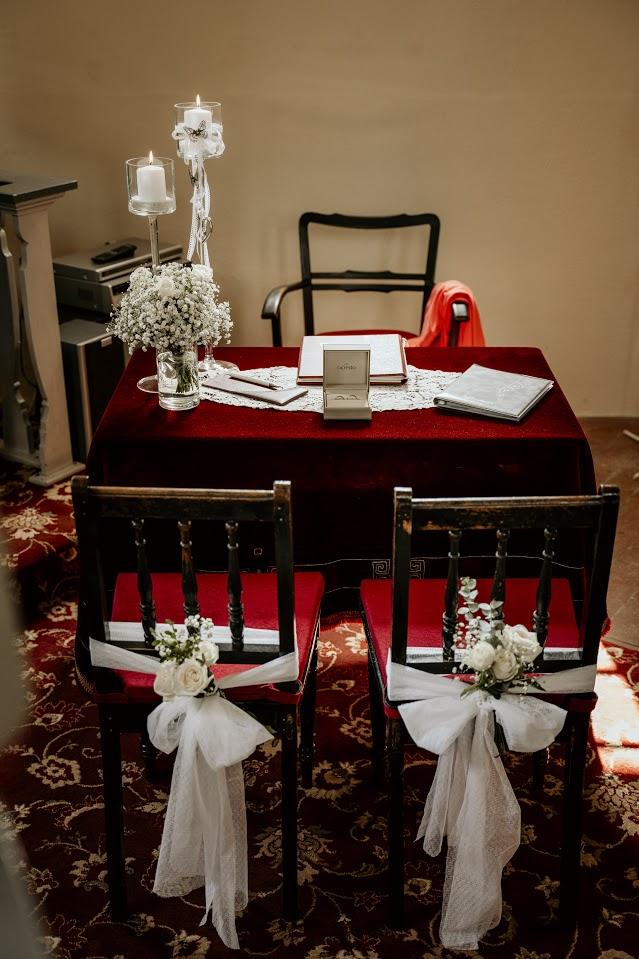 Hochzeit im Betsaal