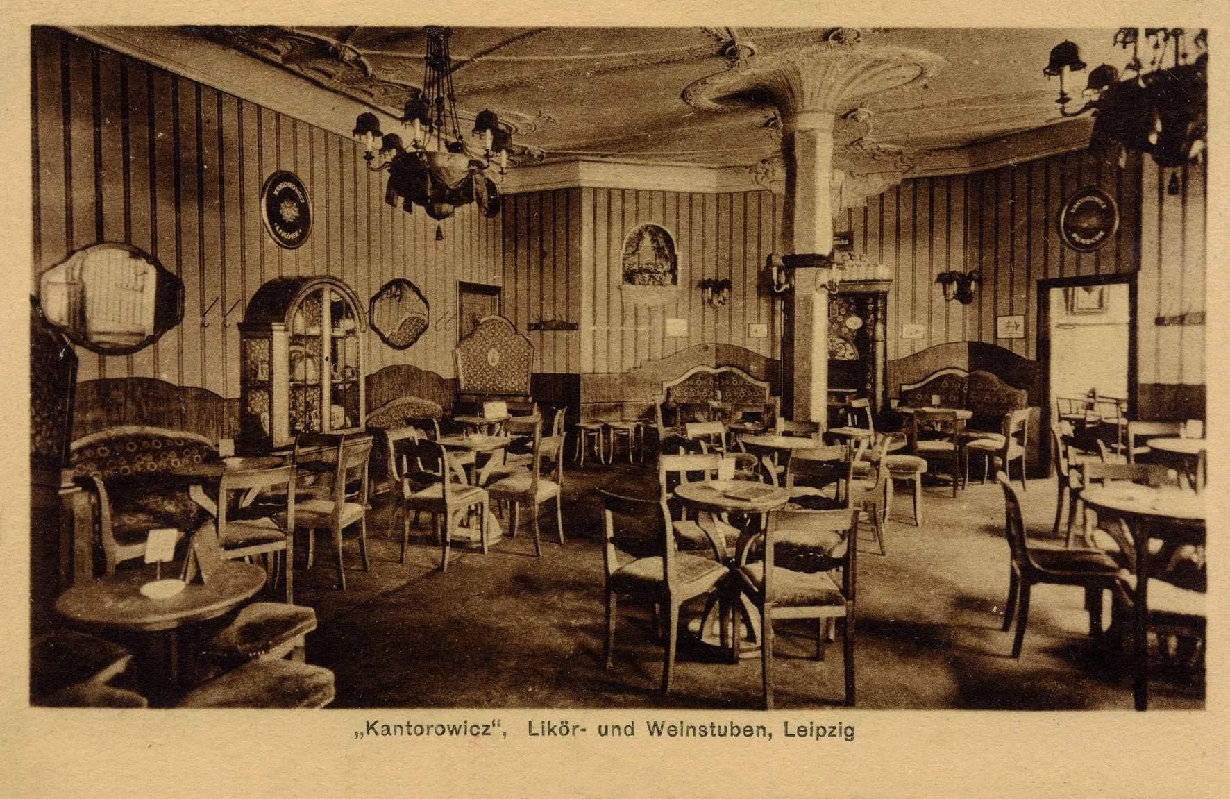 Kantorowicz Likörstube Leipzig, © Stephan Becker, Brüssow