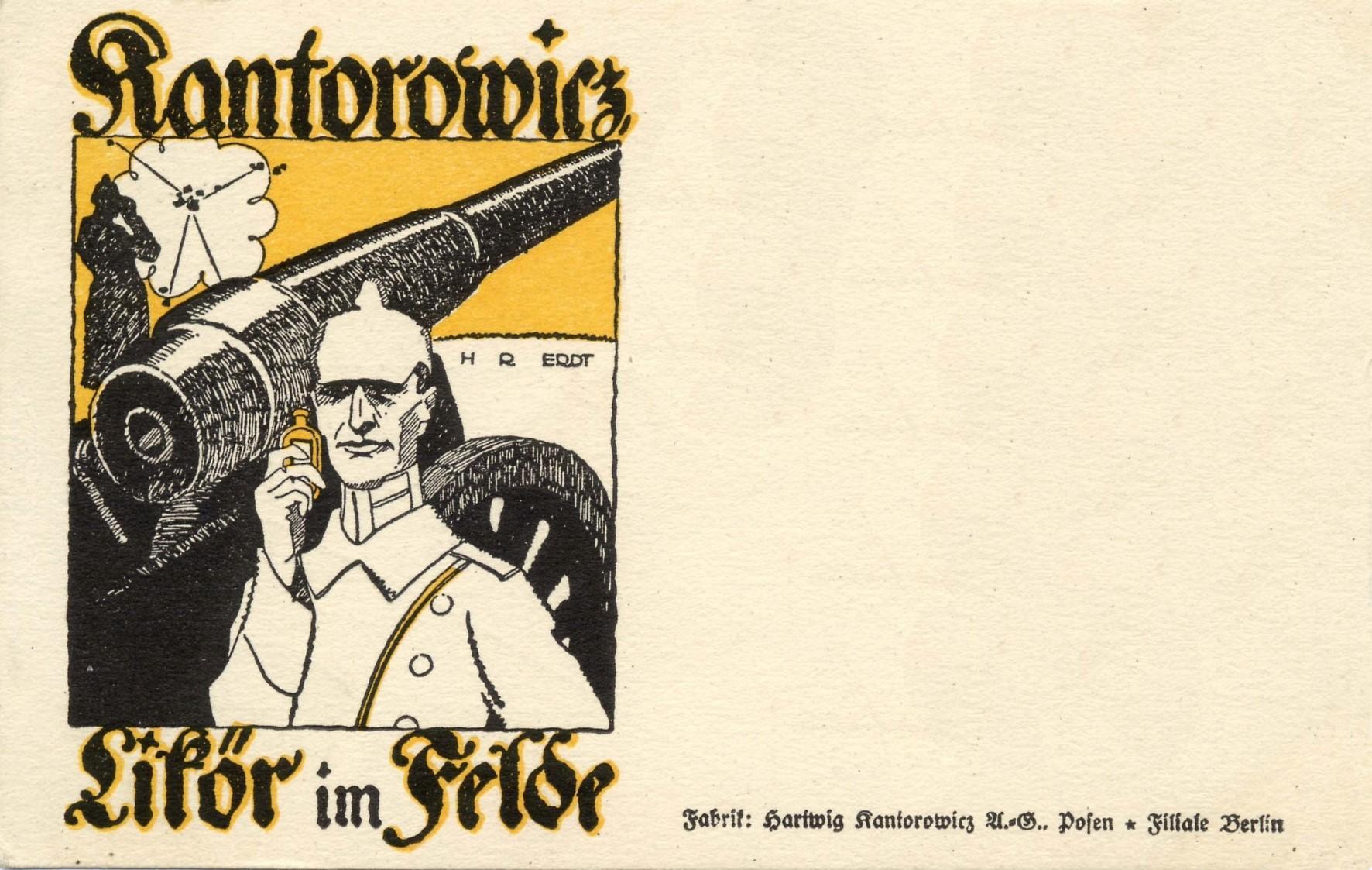 Kantorowicz Feldpostkarte 1, ©Stephan Becker, Brüssow