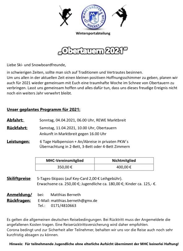 Obertauern 2021