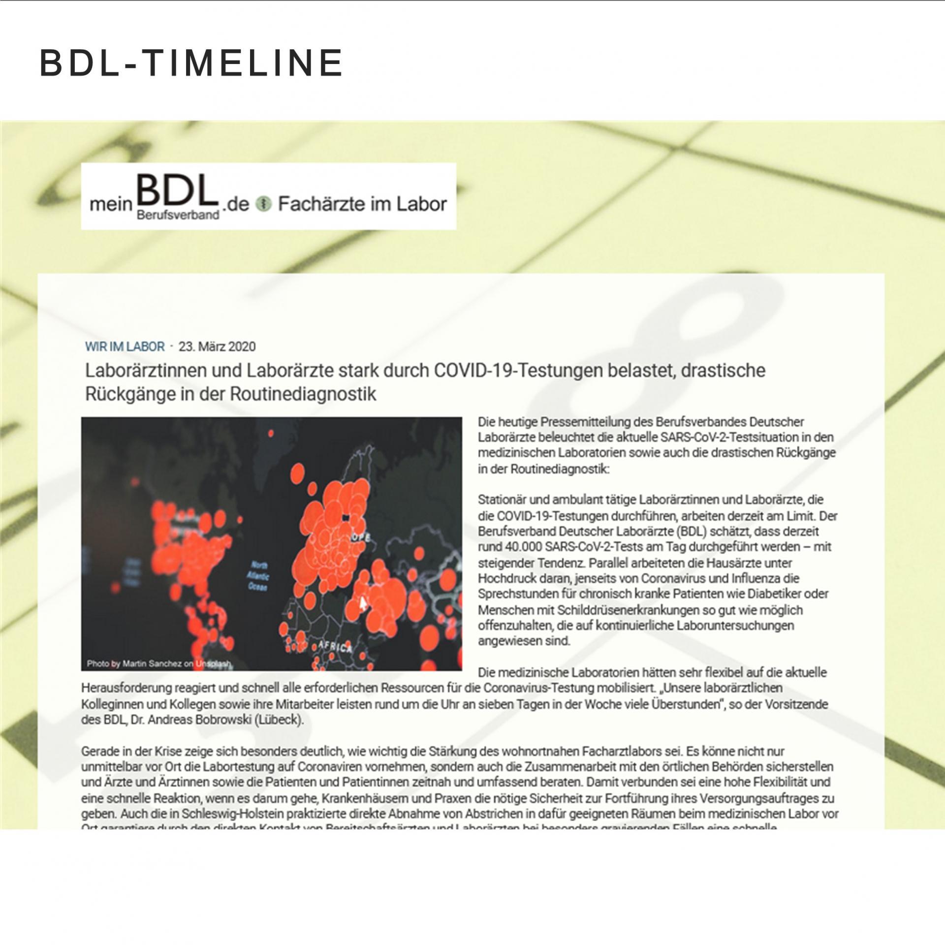 BDL-Timeline (externer Link)