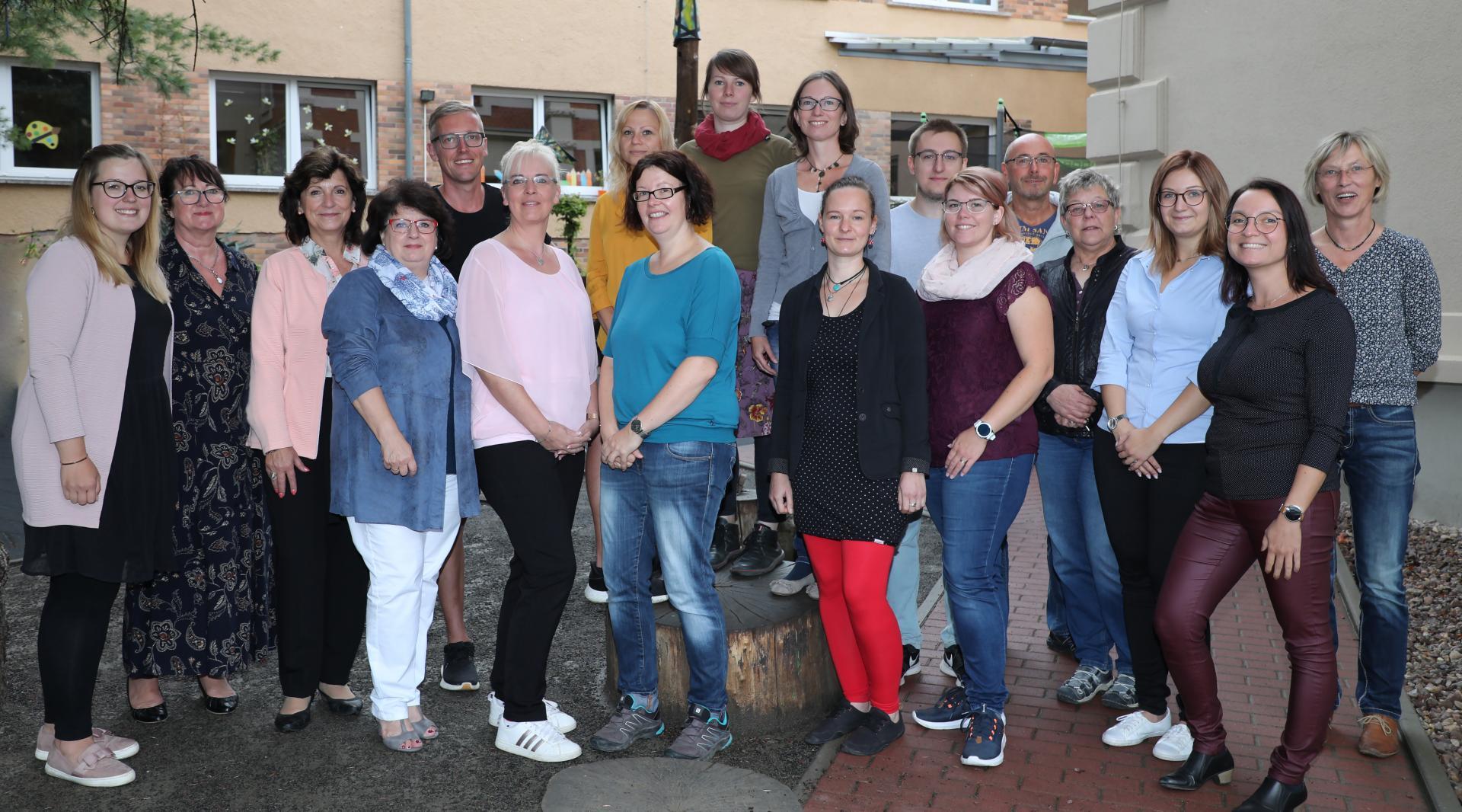Team der THEPRA Grundschule Bad Langensalza