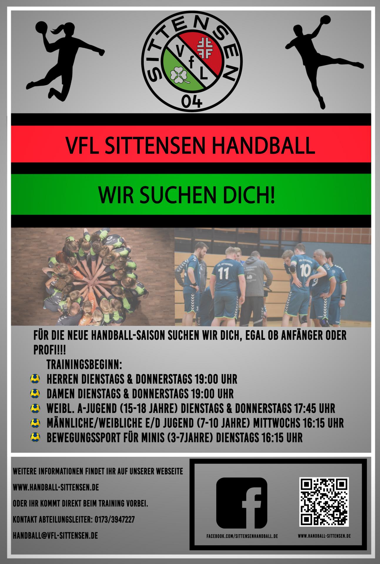 Handballplakat