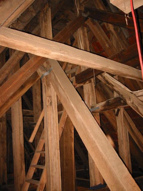 Kirche Görzhain Dachtragwerk