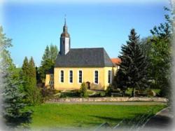 Die Kirche in Bockelwitz