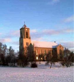 Die Kirche in Polditz