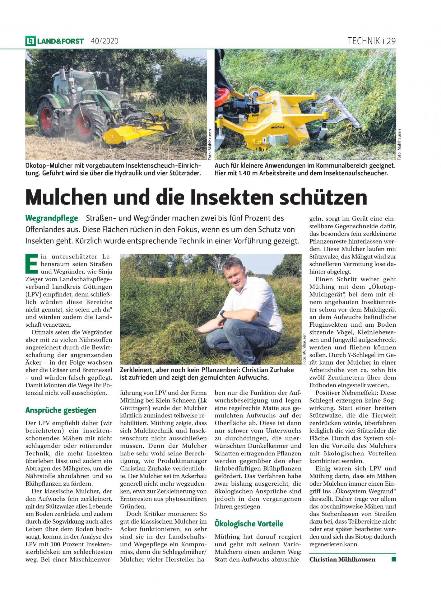 Land & Forst Ausgabe 40/2020