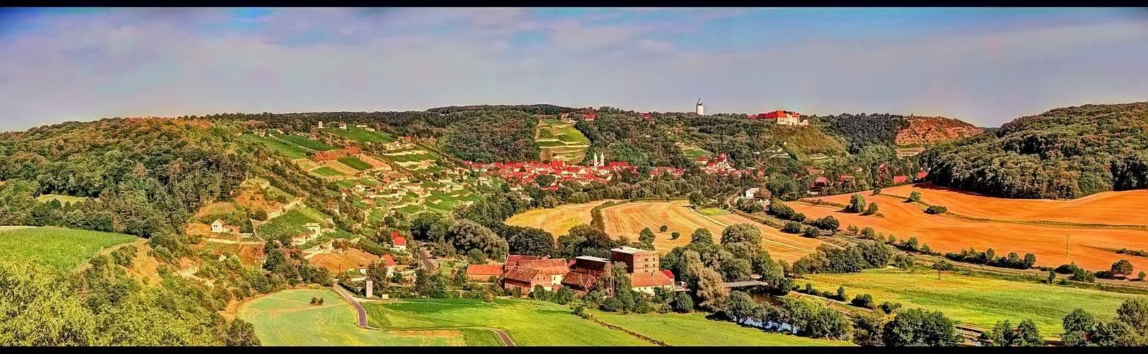 Blick nach Freyburg