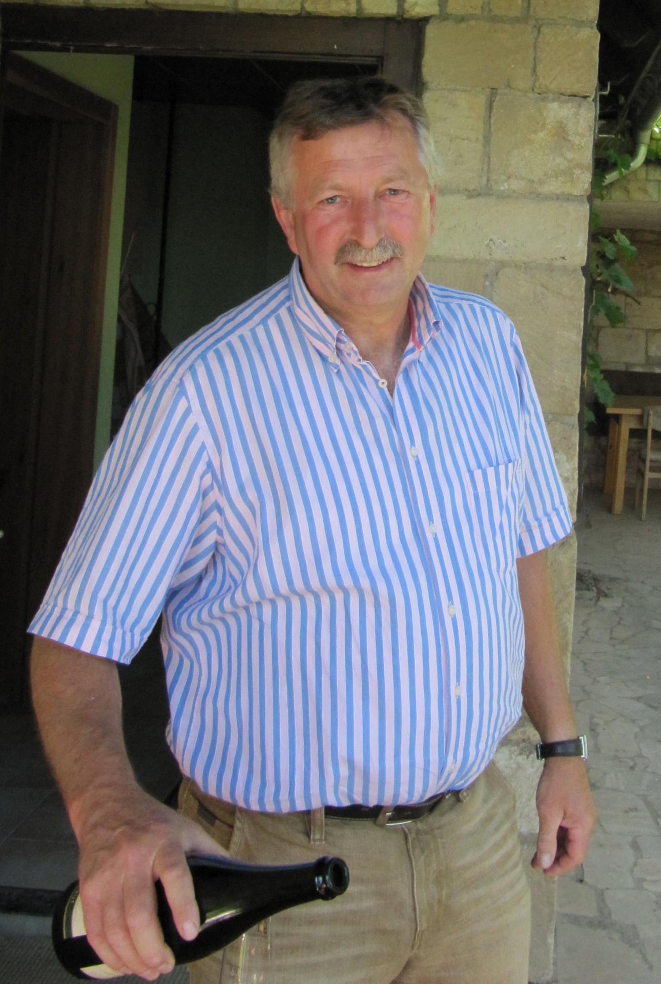 ex-Weinbaupräsident Siegfried Boy (Foto: Weinbauverband Saale-Unstrut)