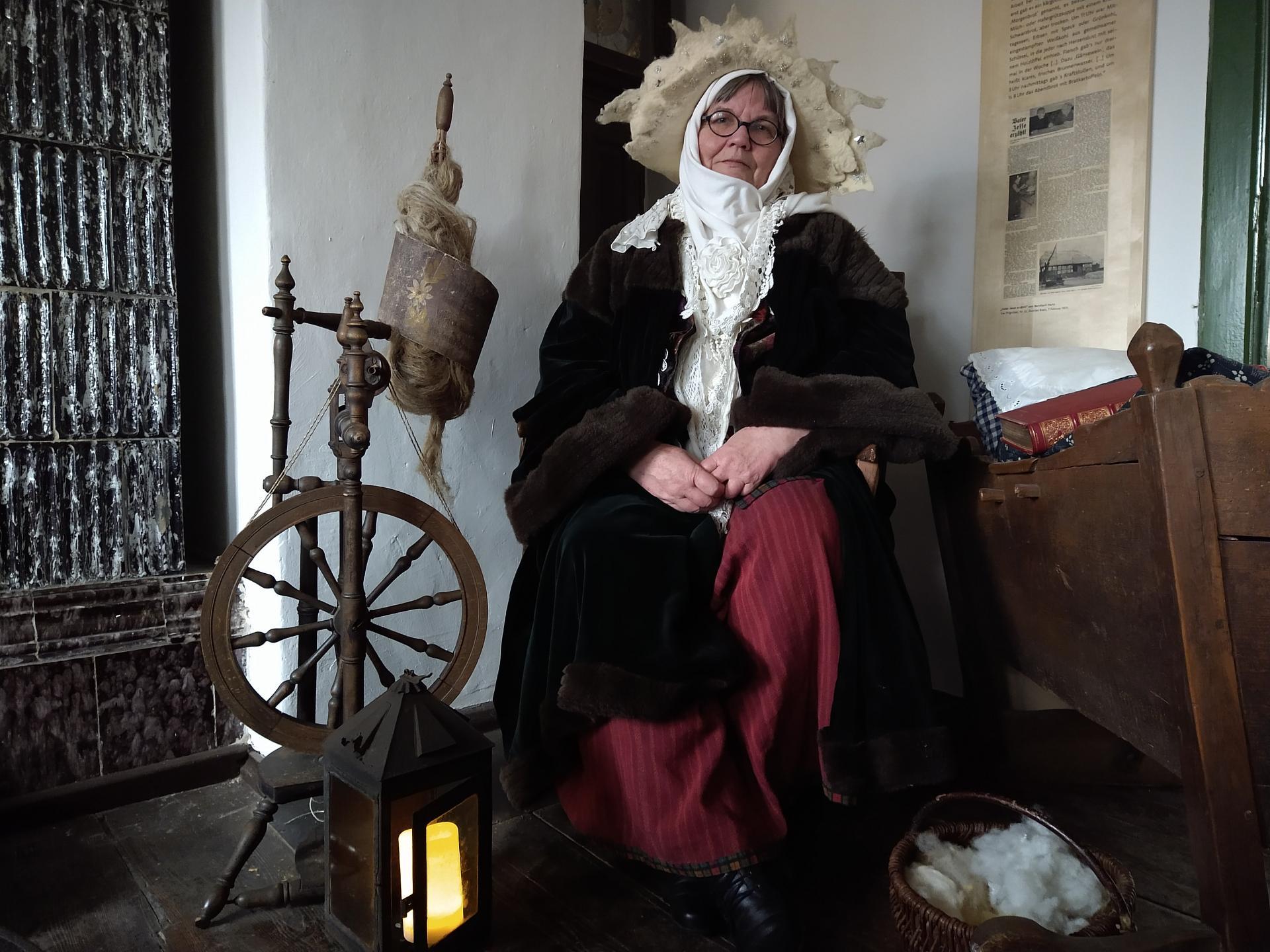 Frau Holle: Knubbelkrud Renate Groenewegen / Foto: Stadt Perleberg