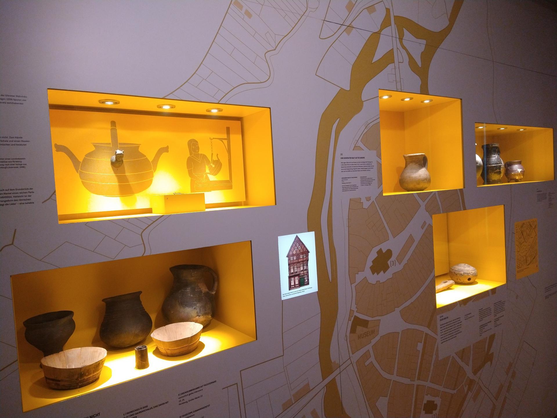 Blick in die Dauerausstellung im Stadt- und Regionalmuseum Perleberg | Foto: Stadt Perleberg