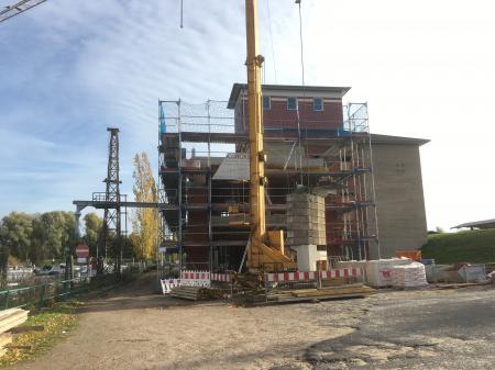 Silo-Umbau Oktober 2019
