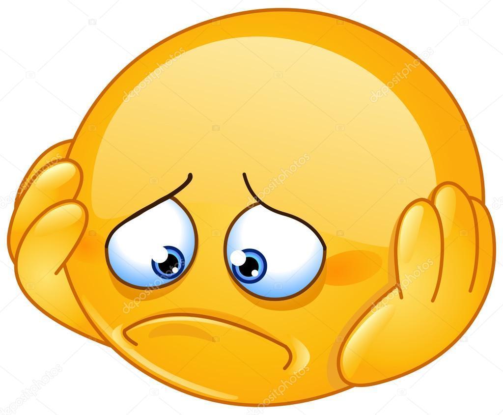 Sorgen-Emoji