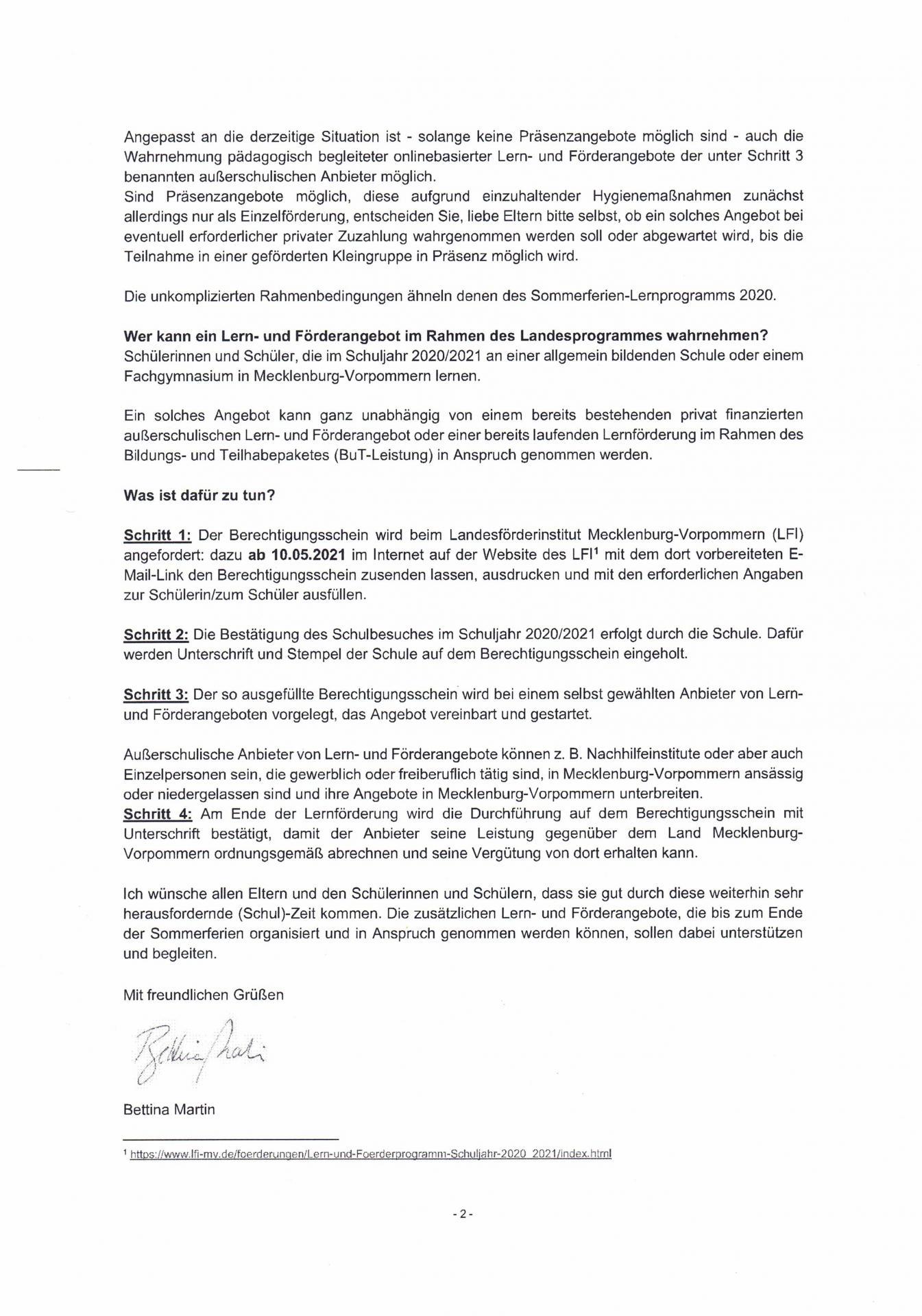 Lern-undFörderangebot 2021 I