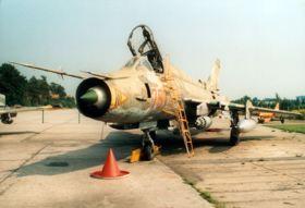 Jagdbomber Suchoi Su-22M4, 1990 außer Dienst gestellt