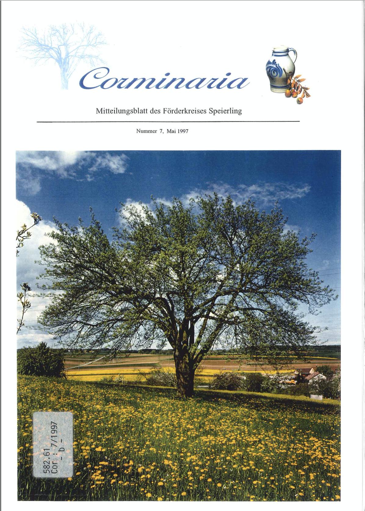 Corminaria Heft Nr. 7