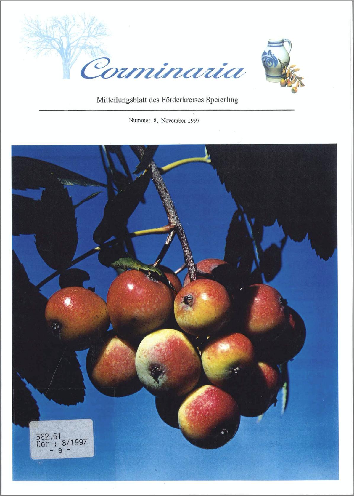 Corminaria Heft Nr. 8