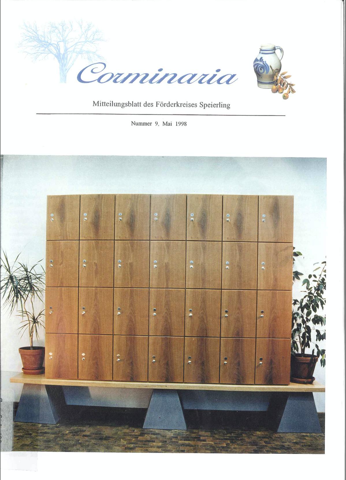 Corminaria Heft Nr. 9