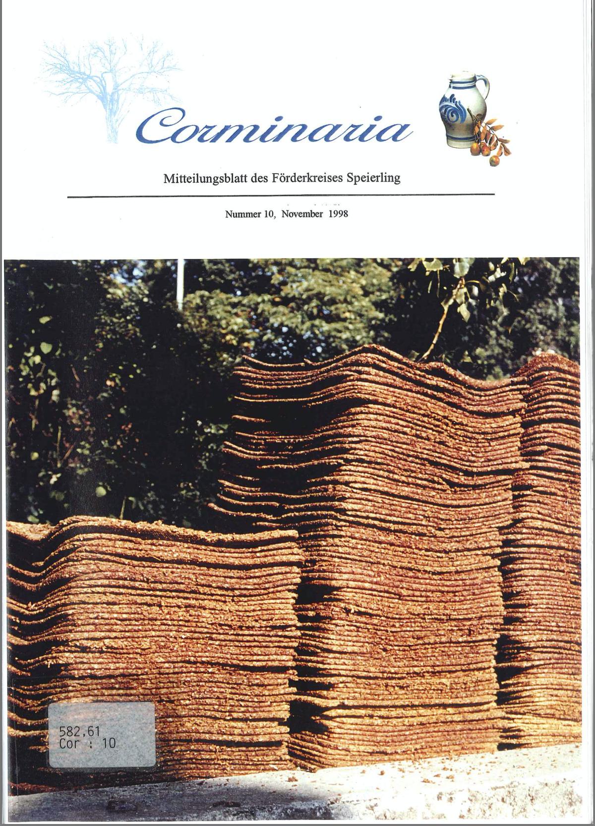 Corminaria Heft Nr. 10