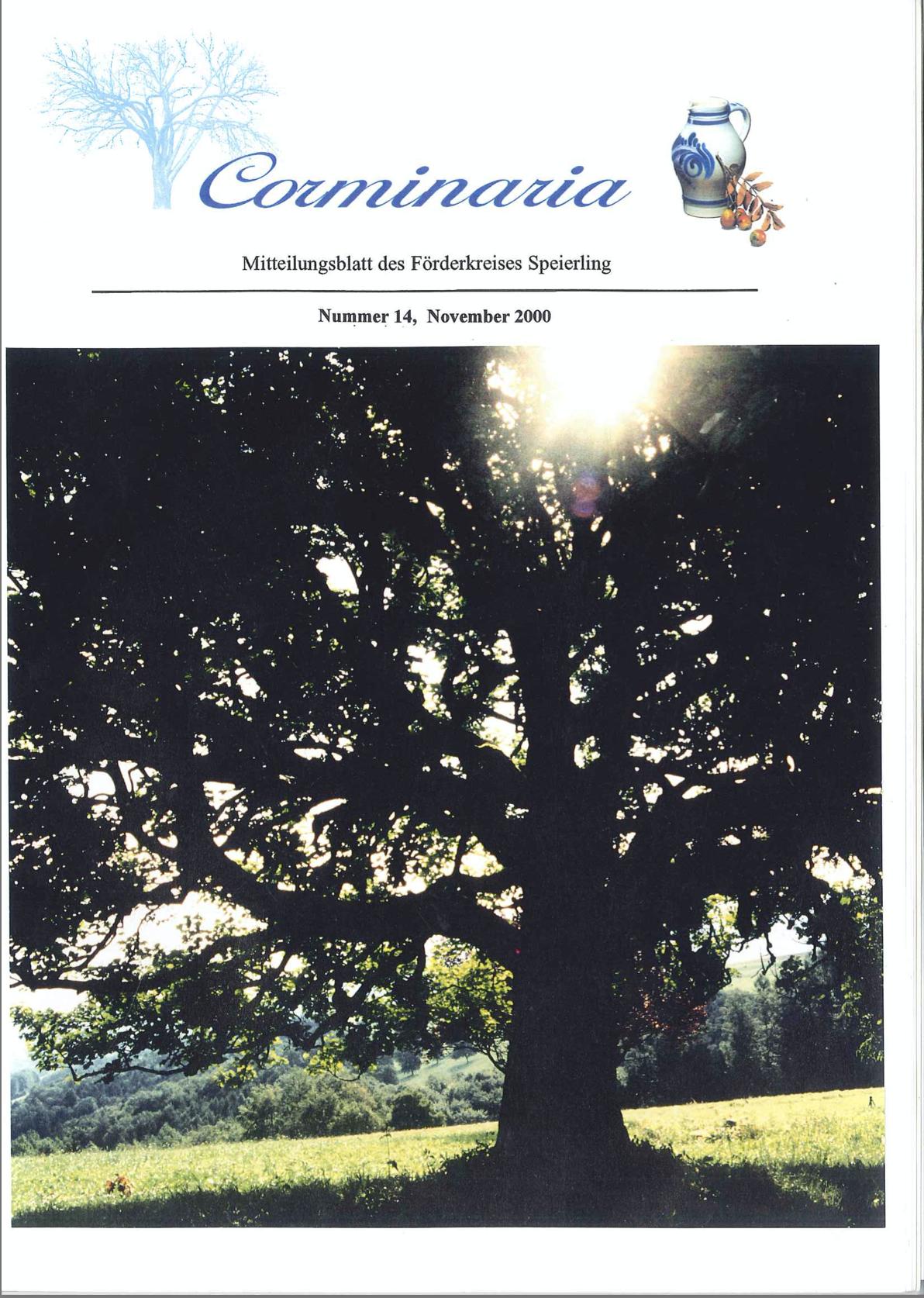 Corminaria Heft Nr. 14