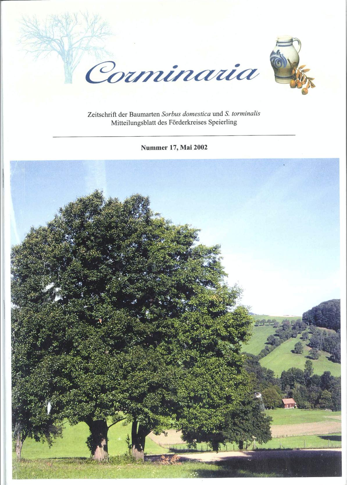 Corminaria Heft Nr. 16