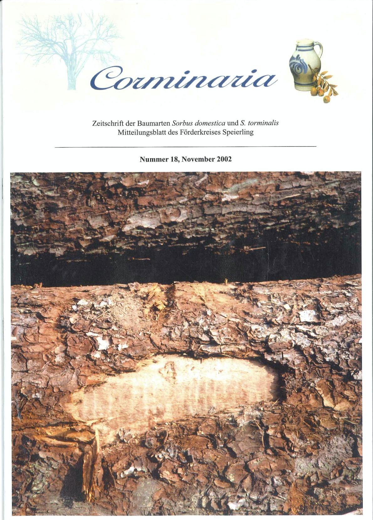 Corminaria Heft Nr. 18