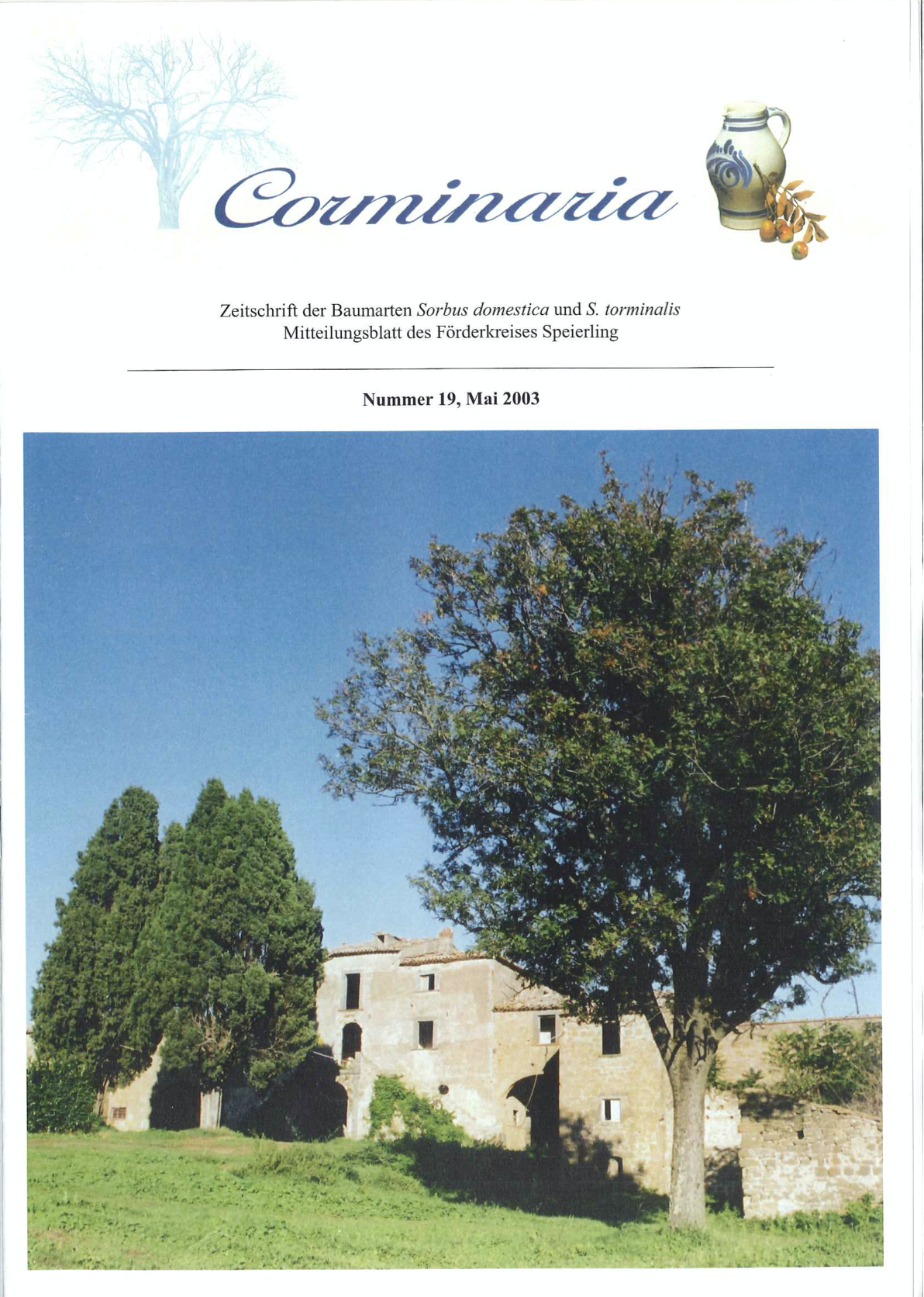 Corminaria Heft Nr. 19