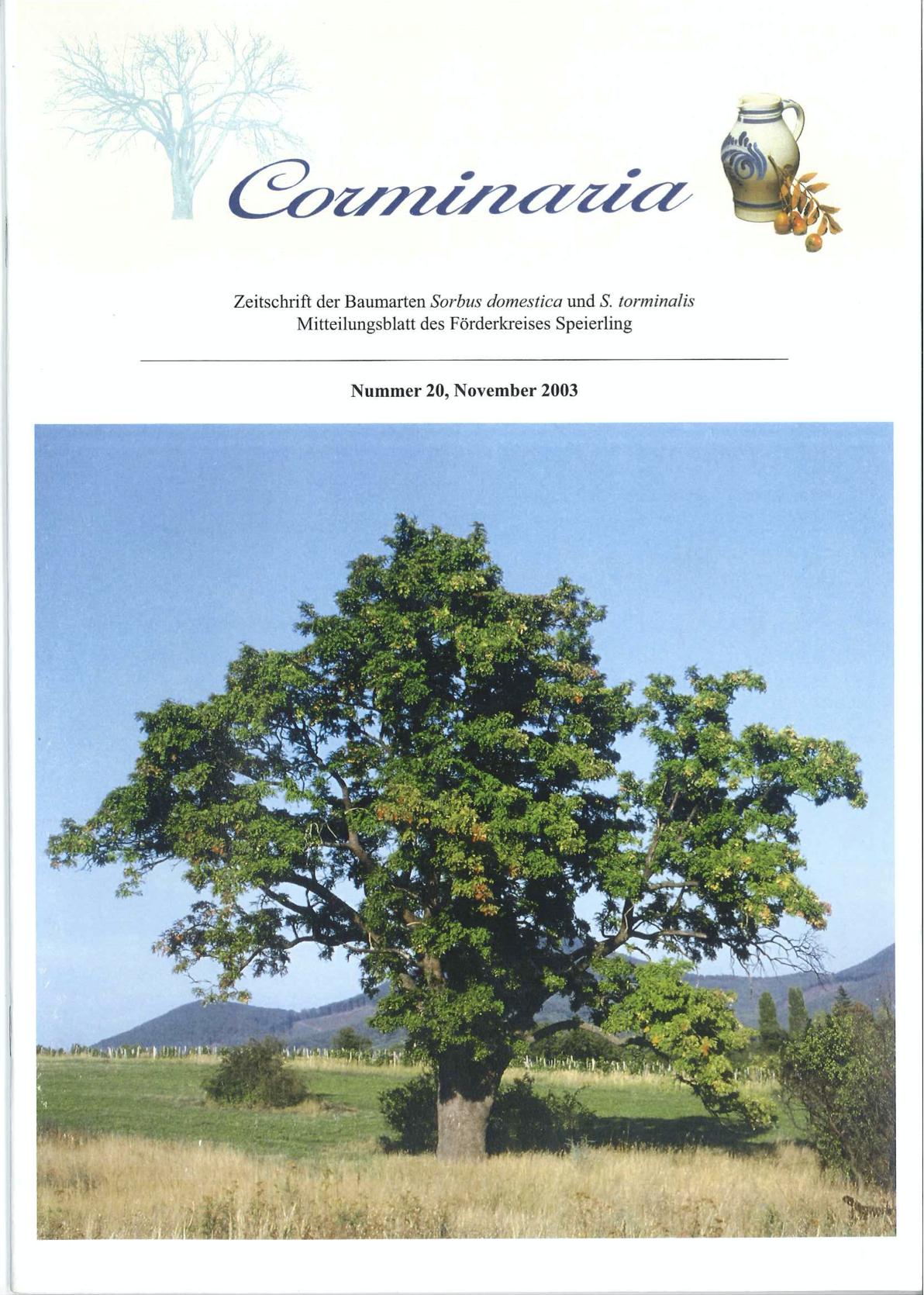Corminaria Heft Nr. 20