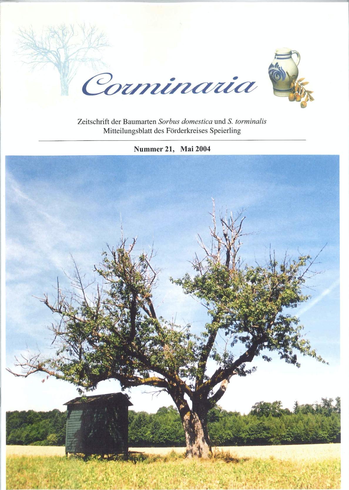 Corminaria Heft Nr. 21