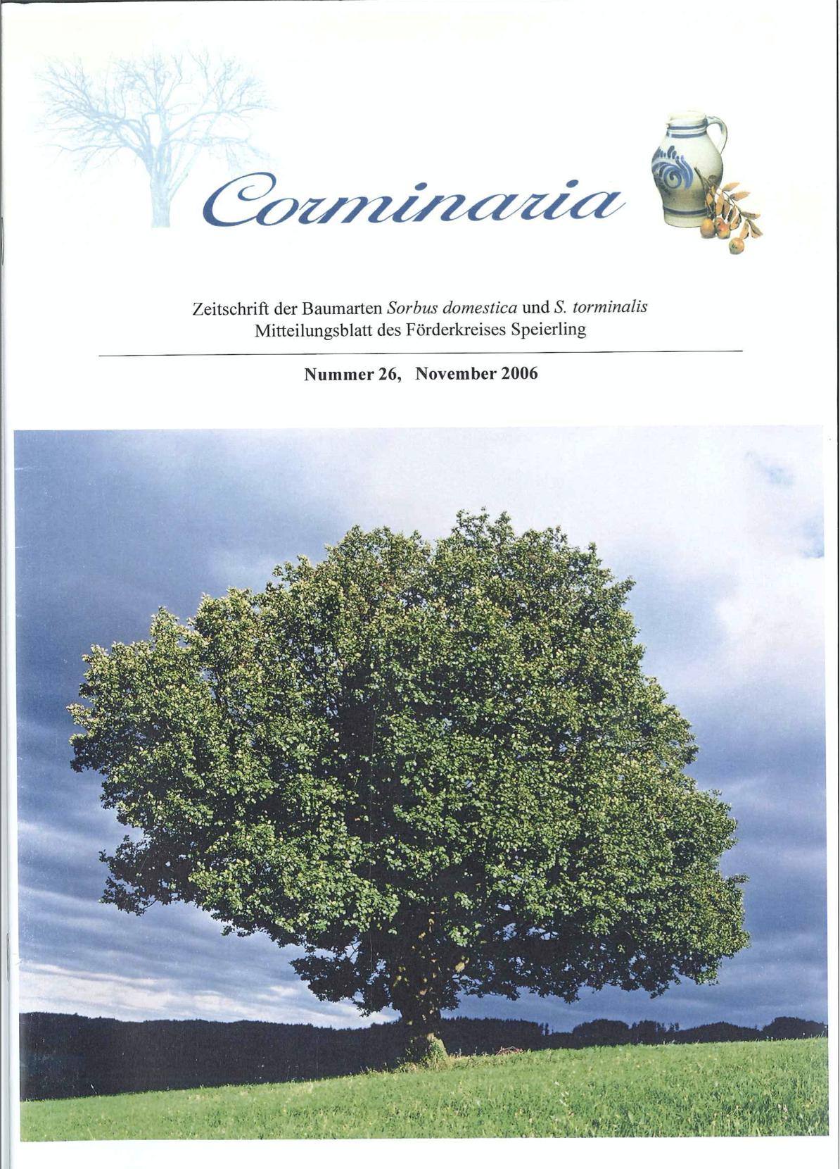 Corminaria Heft Nr. 27