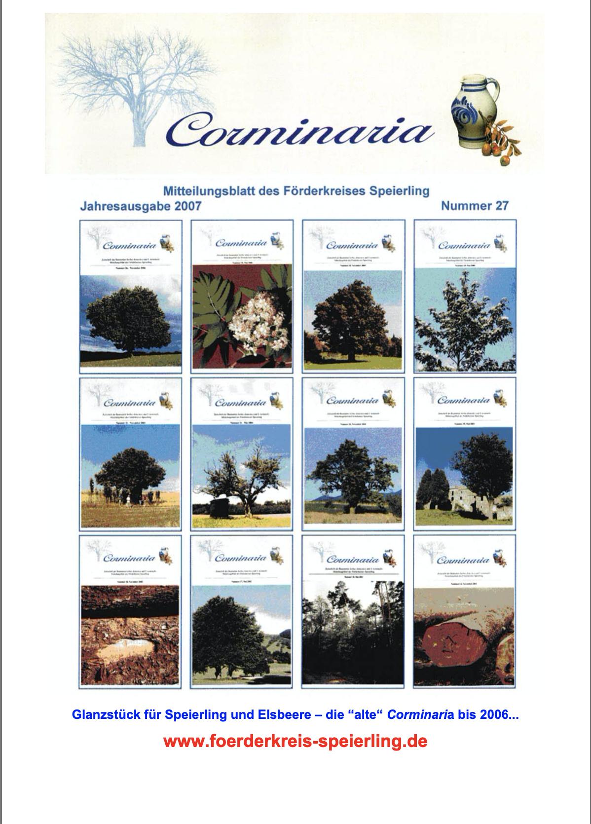 Corminaria Heft Nr. 28