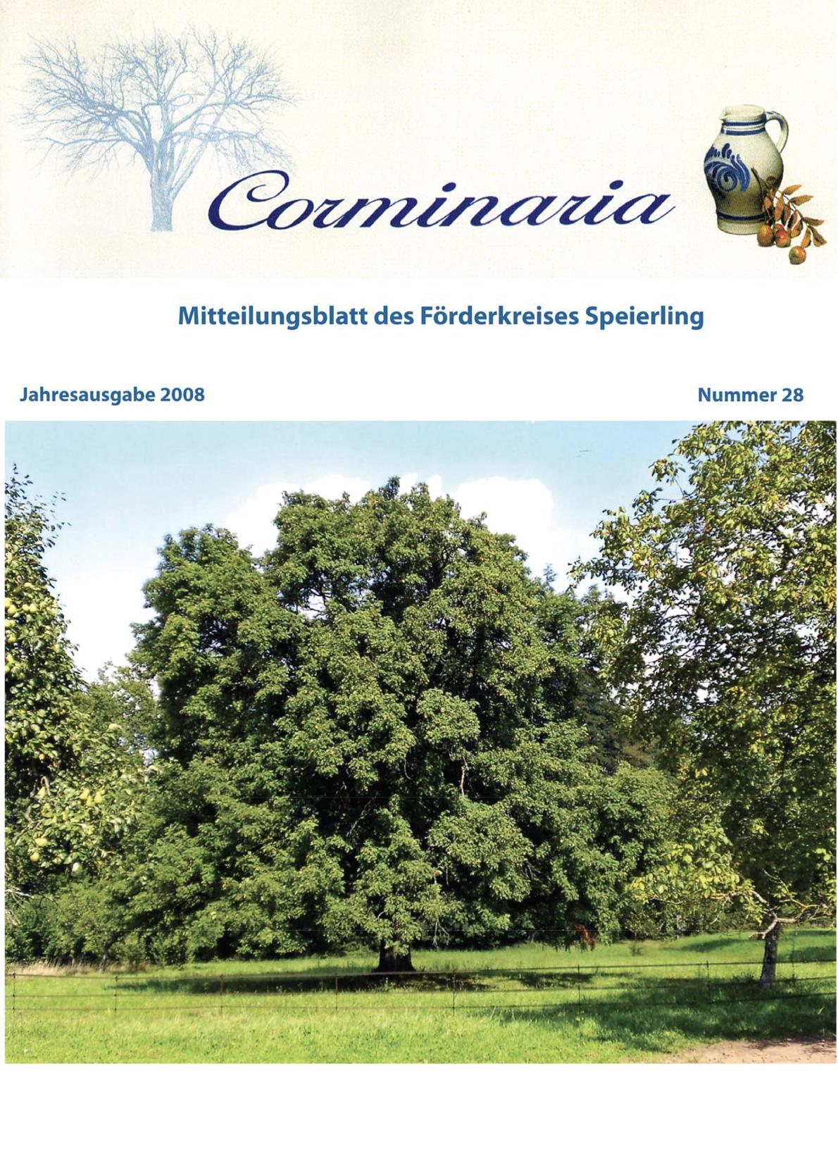 Corminaria Heft Nr. 29