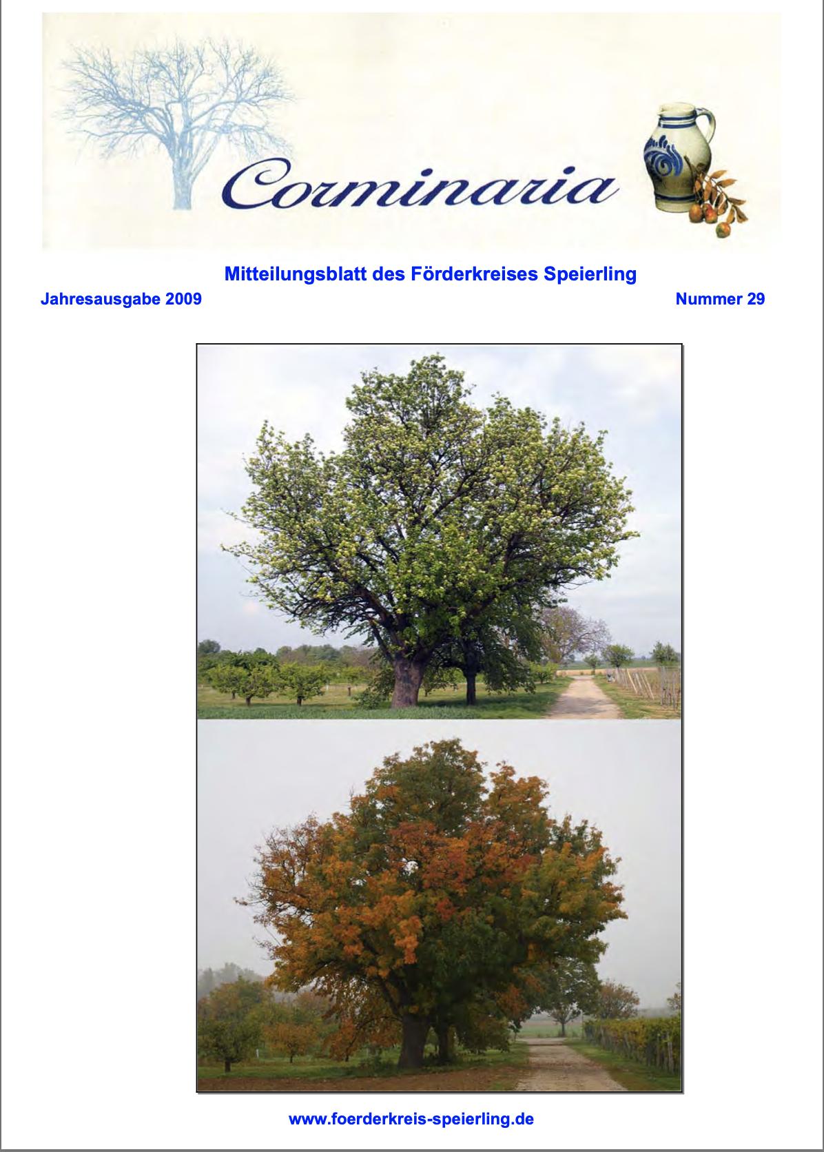 Corminaria Heft Nr. 30