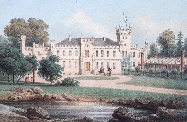 schloss-damerow-um-1860-duncker