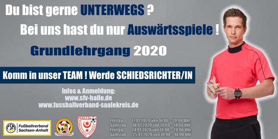 Plakat SR Ausbildung 2020
