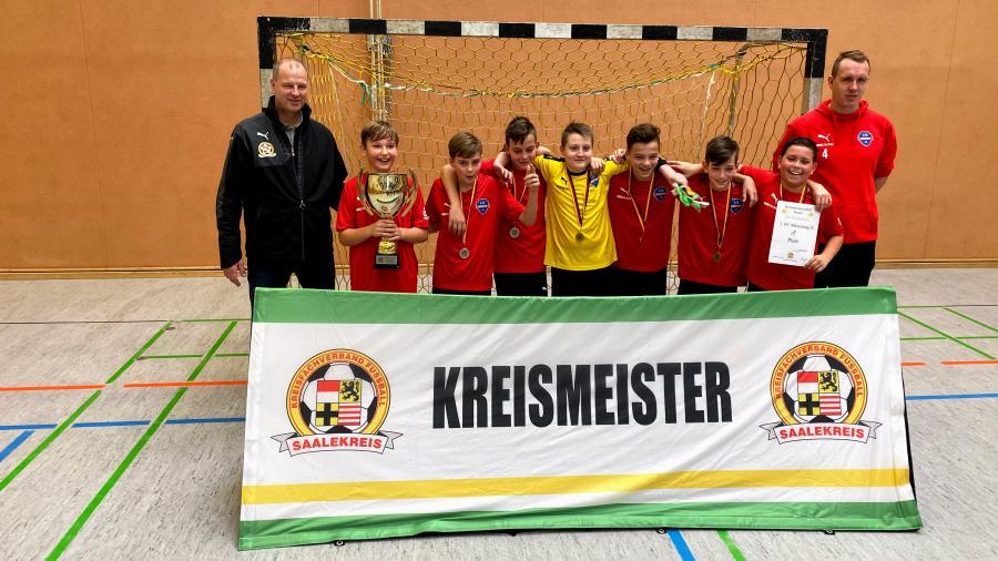 Kreismeister Futsal D-Junioren 19/20 // 1. FC Merseburg U13 II