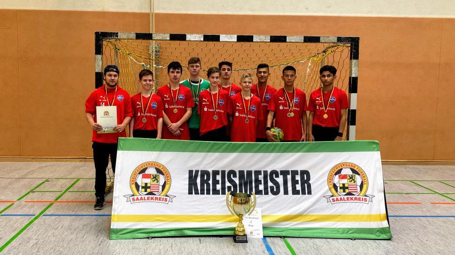 Kreismeister Futsal C-Junioren // 1. FC Merseburg U15 I