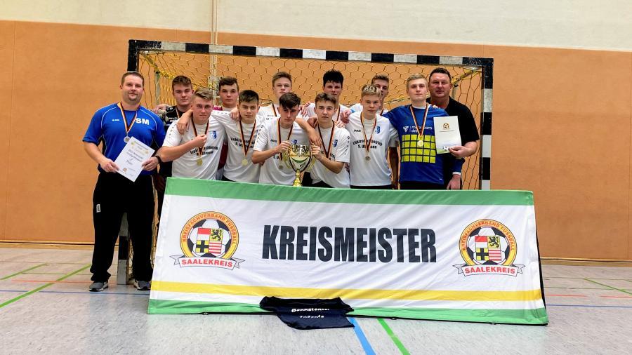 Kreismeister Futsal B-Junioren // JSG Bennstedt/Großgräfendorf