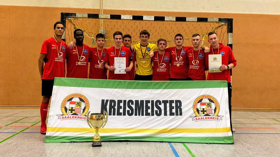 Kreismeister Futsal A-Junioren // 1. FC Merseburg U19